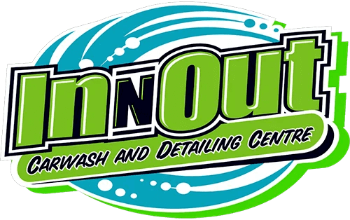 In Out Car Wash Logo